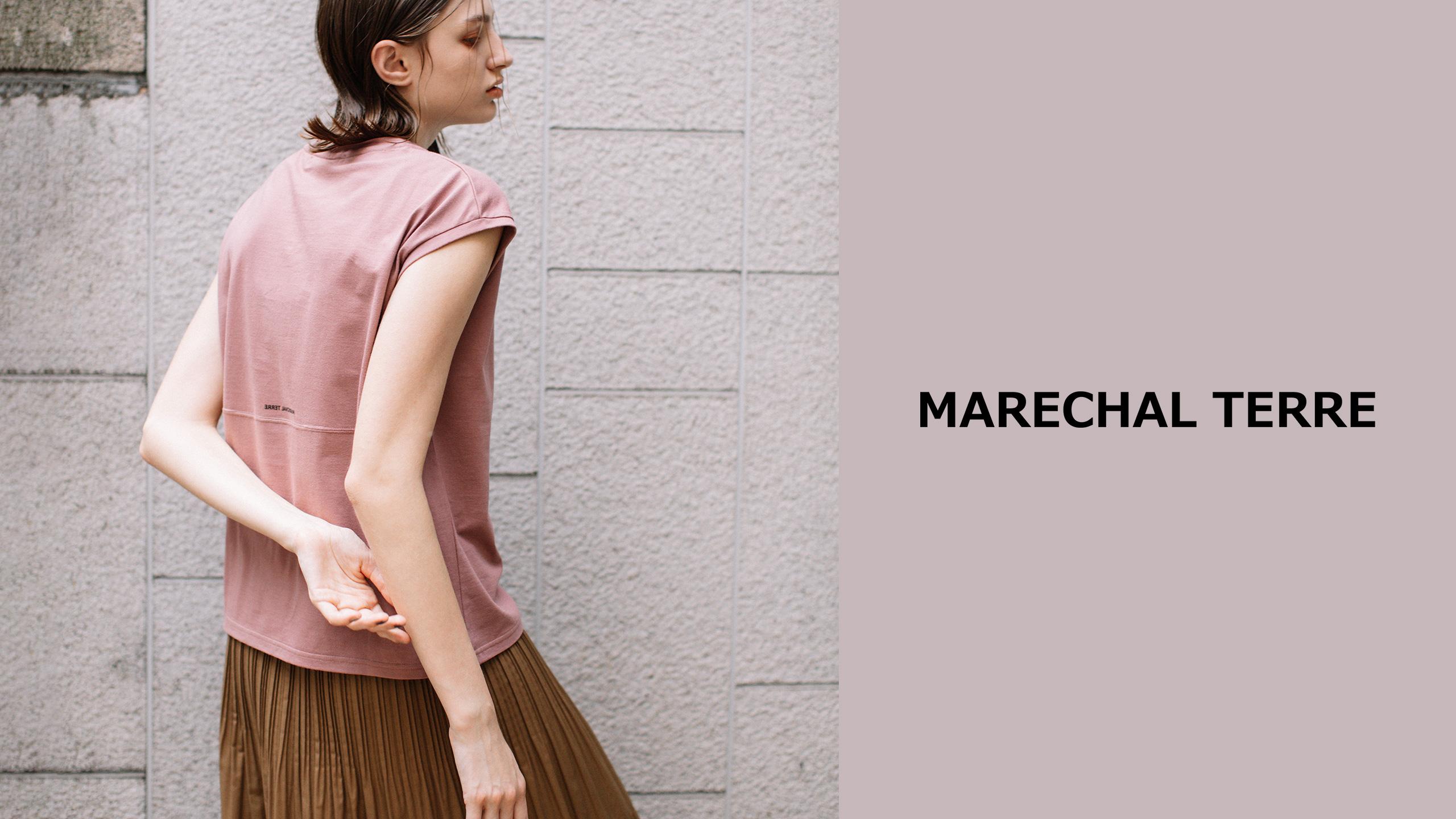 モードな雰囲気とデザインの融合。MARECHAL TERREの新作