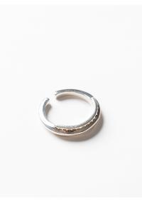SOS Stitch Ring【SILVER】