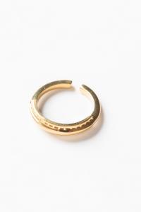 SOS Stitch Ring【BRASS】