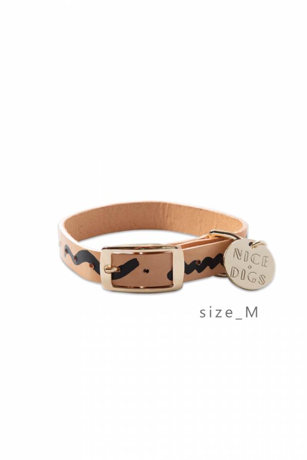 NICE DIGS ZIGGY DOG COLLAR/M