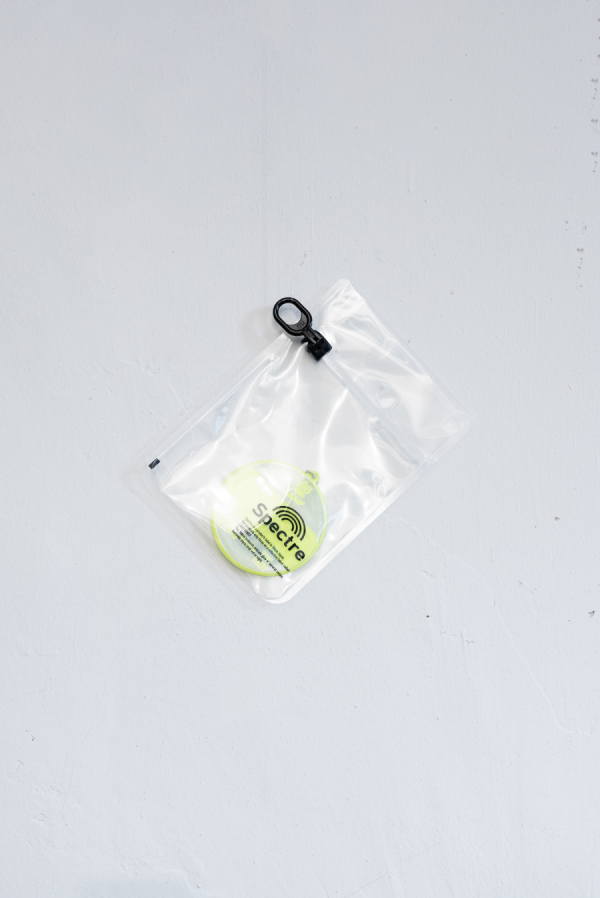 SPECTRE 3M Scotchlite® Name Tag Keychain