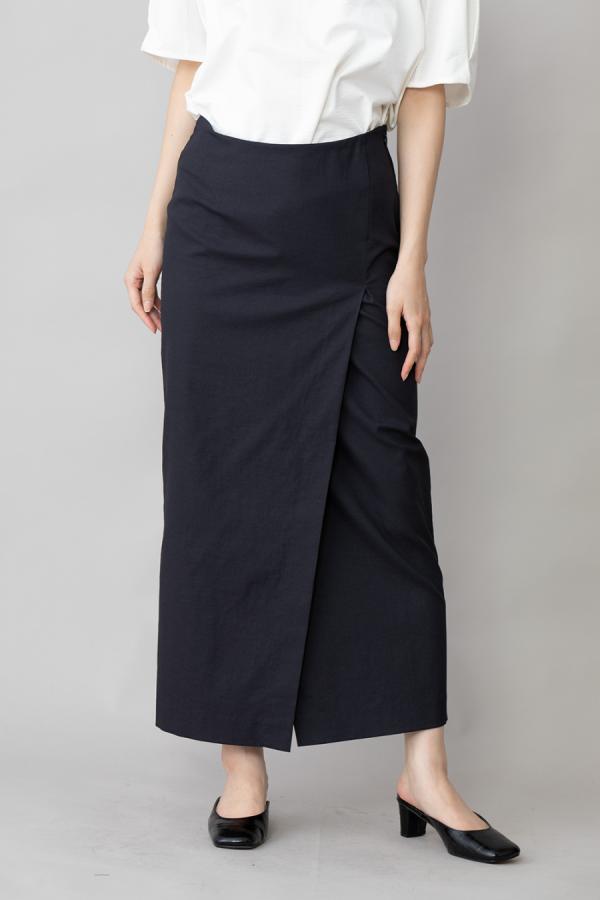munich maxi wrap skirt
