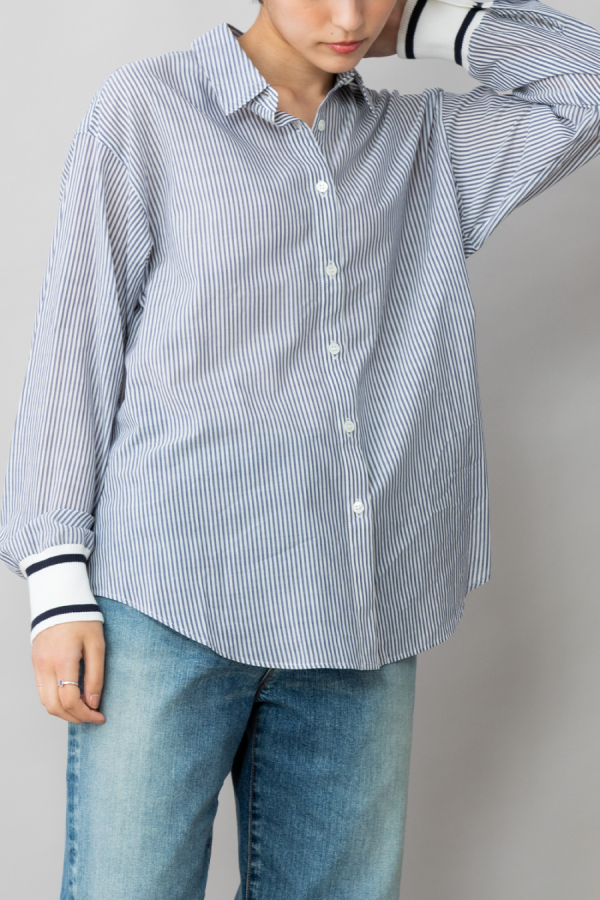 munich リブカフシャツ