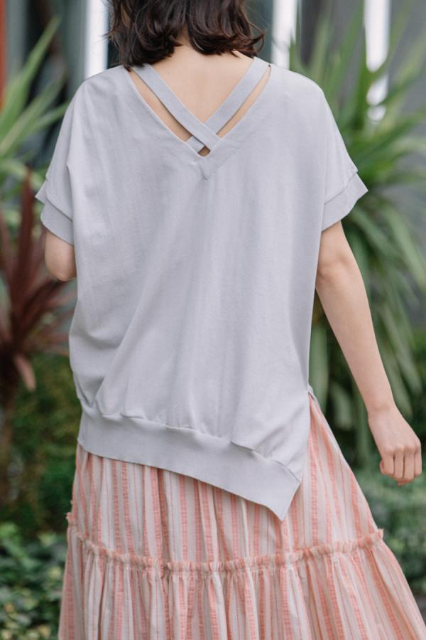 munich asymmetry pullover
