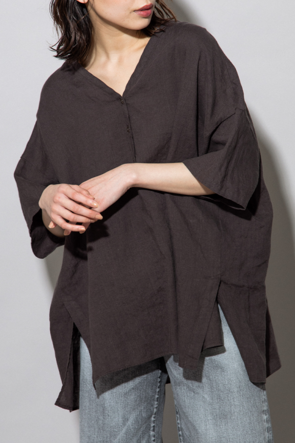 munich linen big pullover