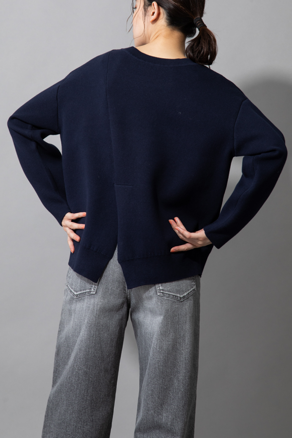 munich center slit pullover-2way
