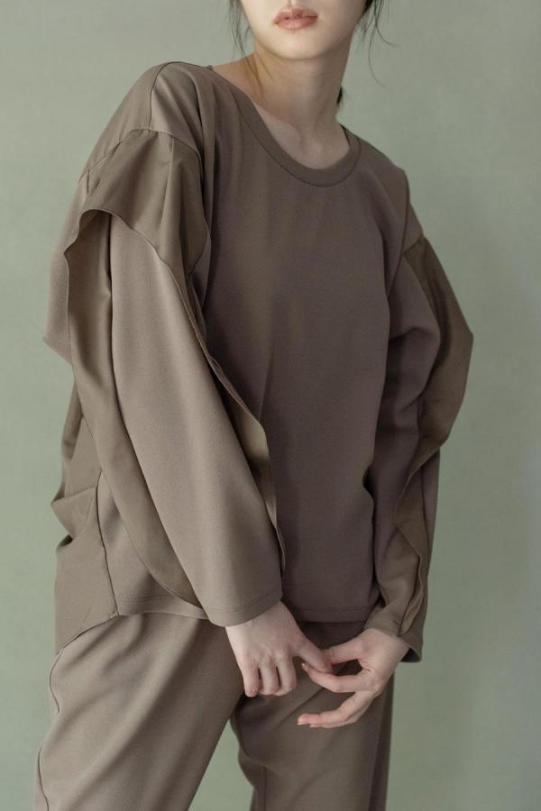 marechal dolman sleeve pullover