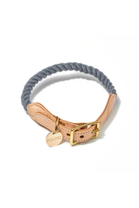 FMA/Recycle Rope&Leather Collar
