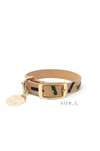 NICE DIGS TIGGY DOG COLLAR/L
