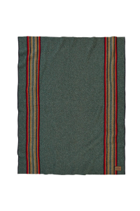 YAKIMA CAMP BLANKET with LEATHER CARRIER<br>ZA160