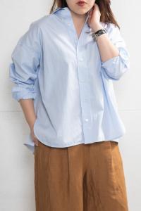 スクエアビッグシャツ<br>TBKS-001