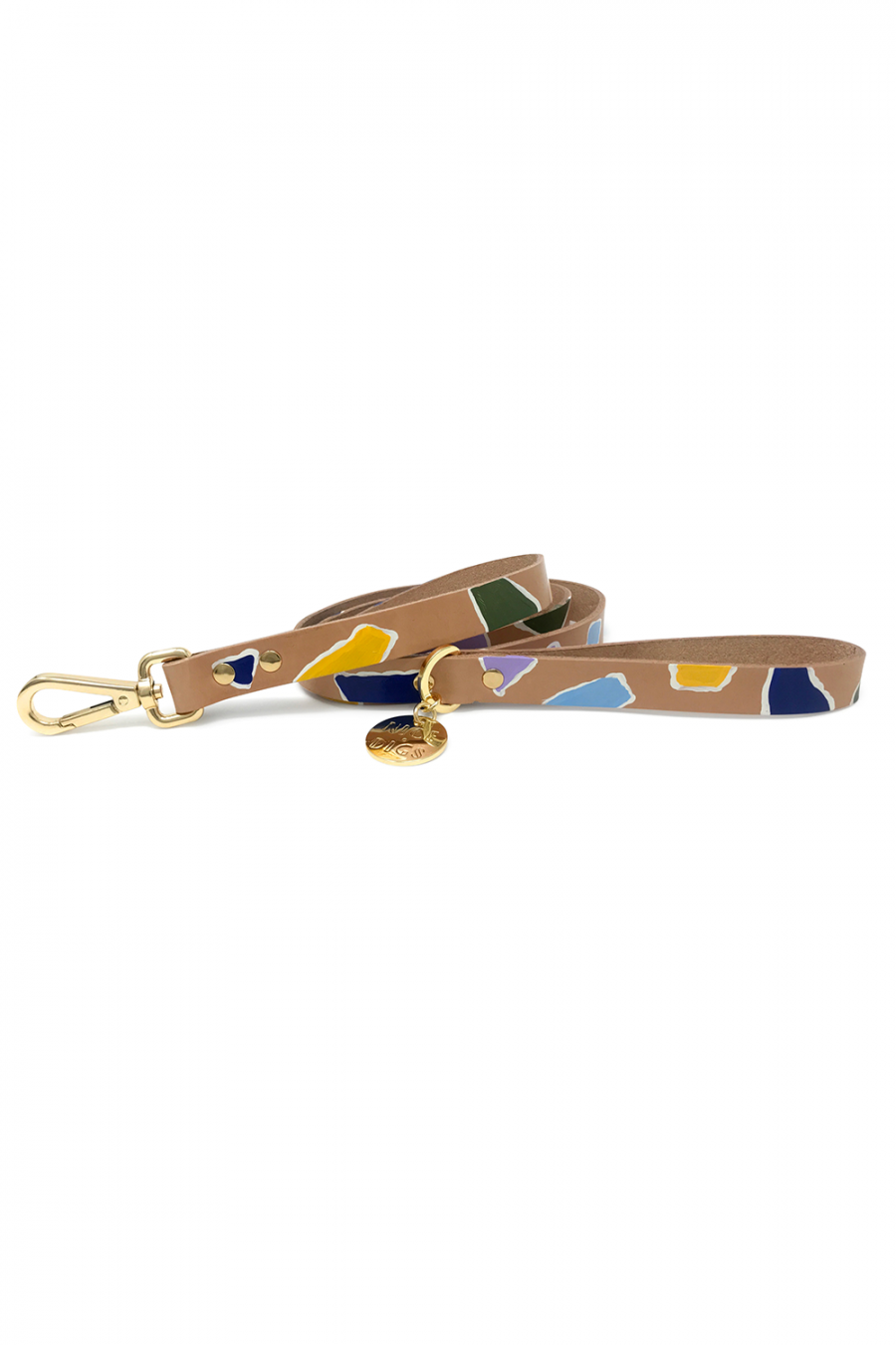 ROCK CANDY LEATHER LEASH