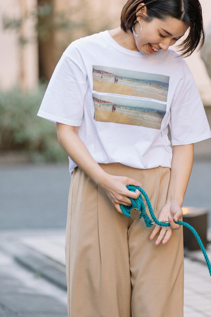 Beach Tシャツ<br>TBAS-441