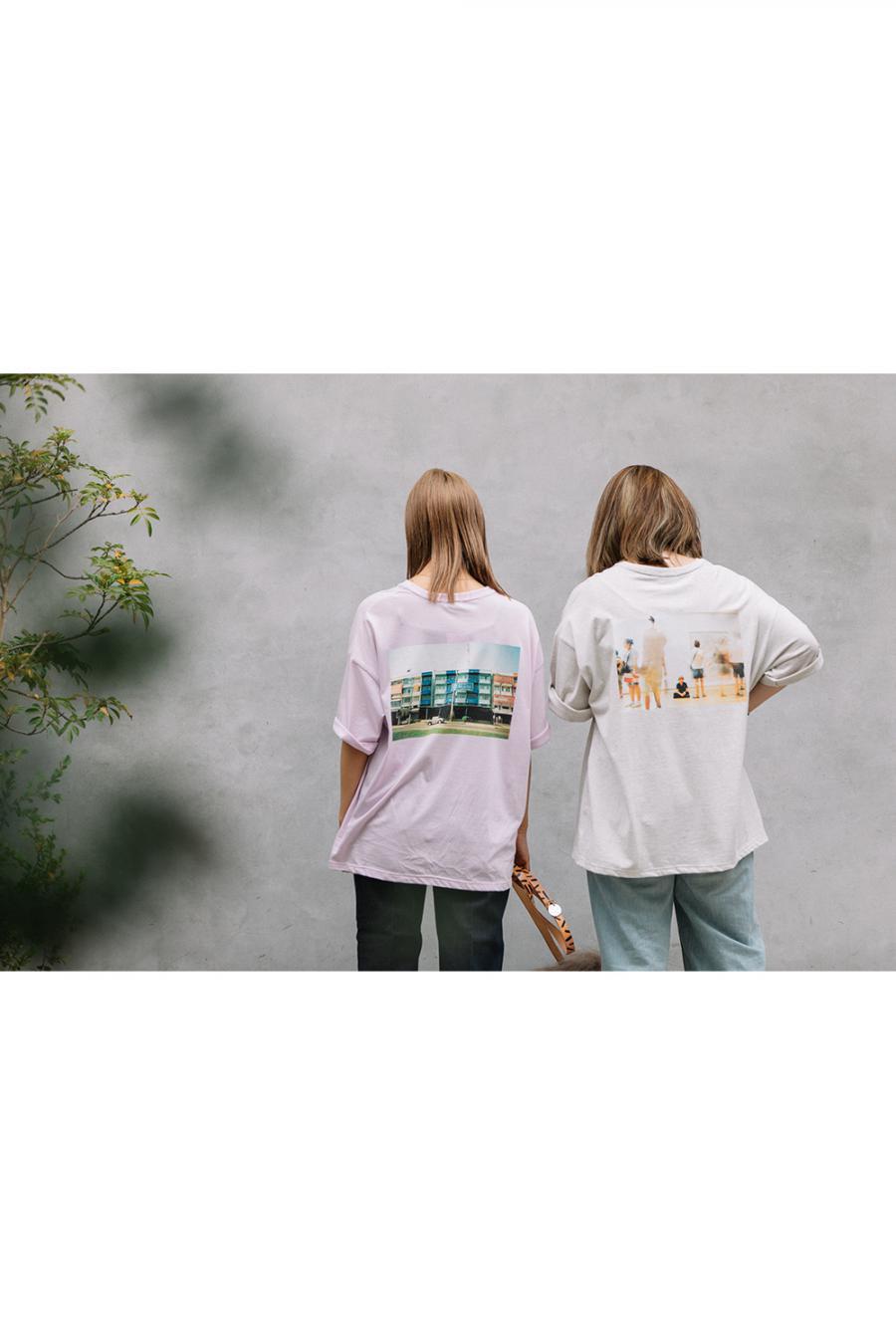 TheTENT×JAMeen フォトTシャツ【New york】<br>21112001TP018