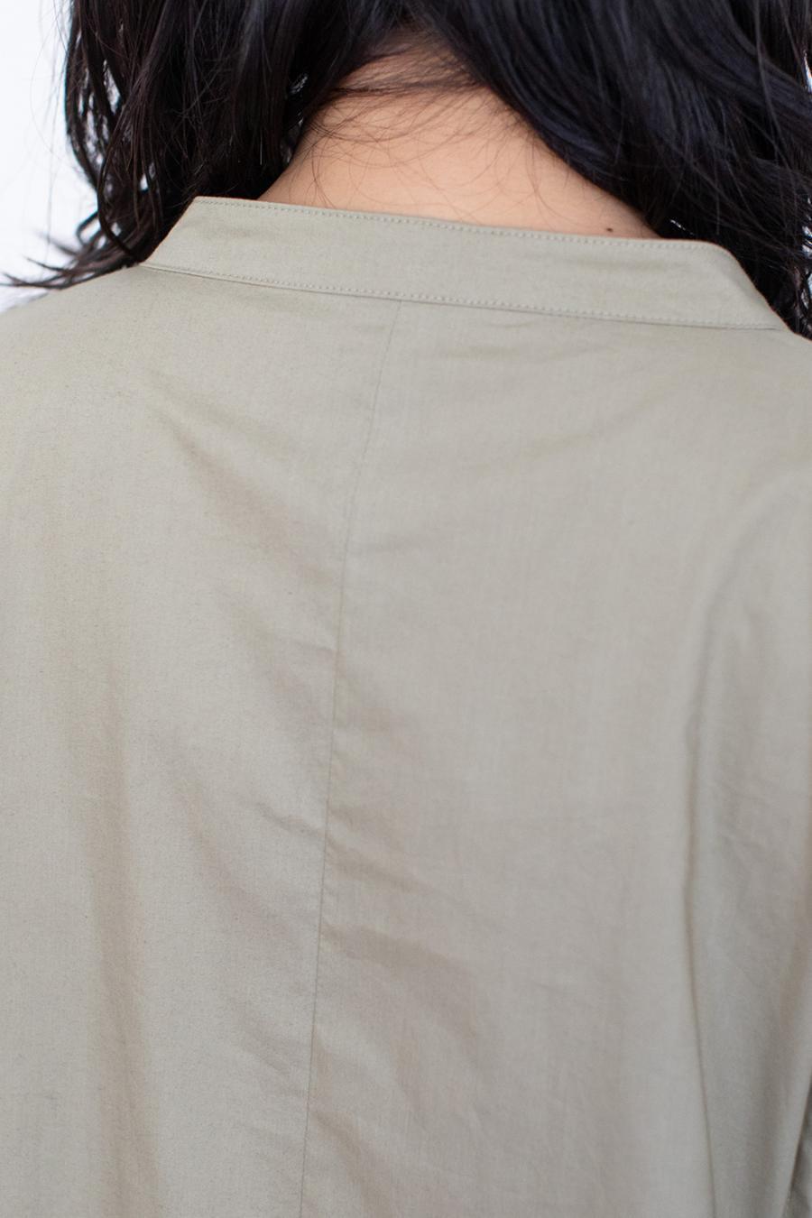 レイヤードシャツワンピース<br>ZMT214OP320