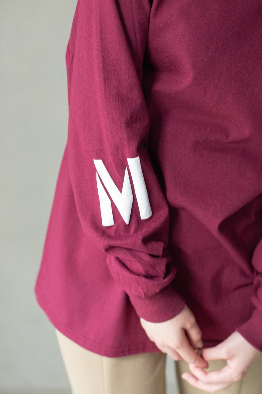MロゴロングTシャツ<br>ZMT215CT510