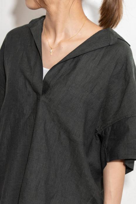 スキッパーシャツ