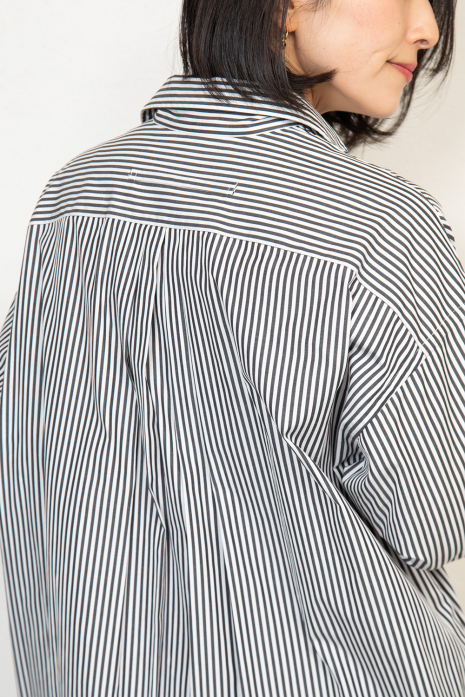 スクエアビッグロングシャツ<br>TBKS-015