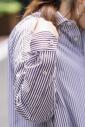 スクエアビックロングシャツ<br>TBKA-156