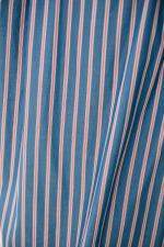 タイプライターストライプ シャーリングカフシャツシャツワンピース<br> MN211N31