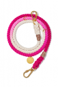 Cotton Rope Ombre Dog Leash Adjustable