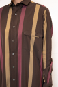 スクエアロングシャツ