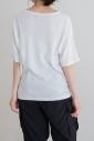 コットンリネンランダムリブTシャツ<br>MNHG275